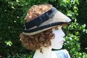seagrass and sisal handmade / blocked golf hats / visors