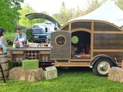 bulleit bourbon caravan at pimento