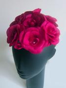 Rose Camellias Hat