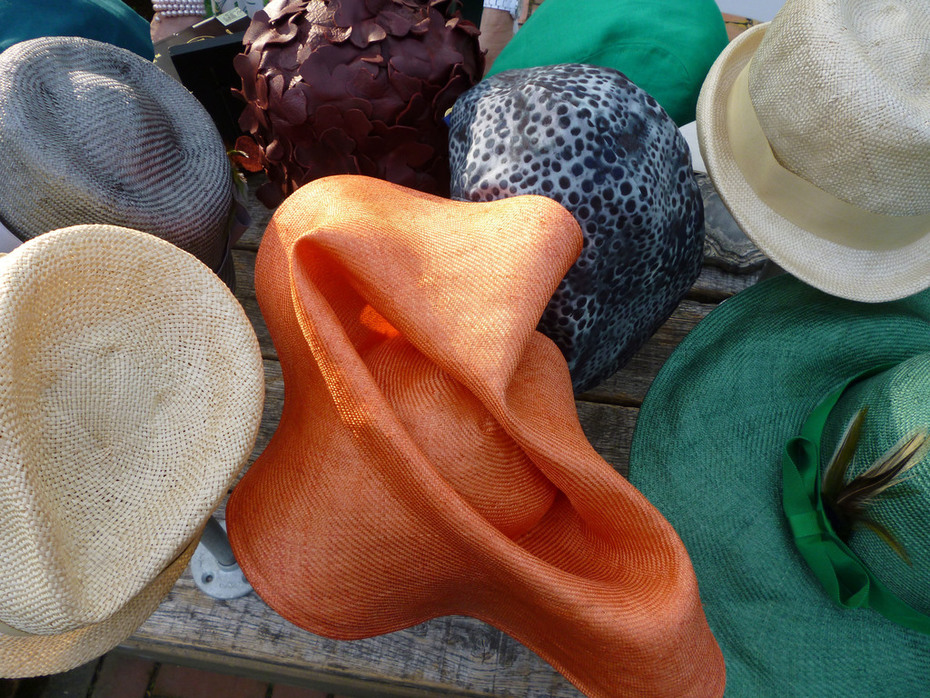Tonya Gross Millinery Booth at the Kentucky Derby Farmington Event