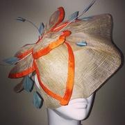 Custom Order - Sinamay Floral Piece