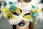 Fantasy venetian mask