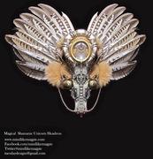 Shamanic Unicorn Headdress