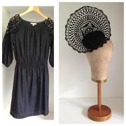 FOR HIRE: Headpiece by Murley & Co Millinery / Dress by Country Road