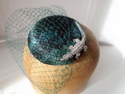 Cold Hearted Vixen Cocktail Hat