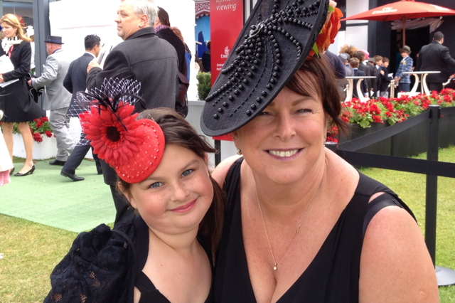 Dressing up for Spring Racing