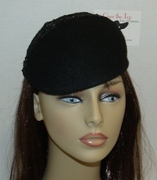 Over the Top Black Beret