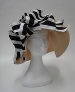 Black and White Sun Hat