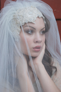 Eternal Love headpiece & Veil