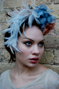 Bridal Feathered Headpiece