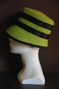 lime green cloche