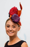 Autumn in Paris-headpiece made for Tutors Hat Parade at IMF2014
