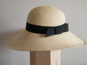 Natural color Panama hat Handmade in Israel Rana Hats