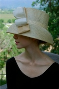 Audrey Hepburn inspired straw hat