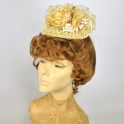 REPRODUCTION OF 1870s VICTORIAN HAT