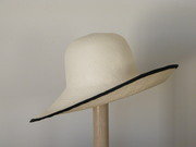 Ivory Panama hat for women