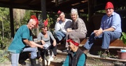 Fun Hat Lunch day 30th June 2014 at Hazelwild Retreat Conondale.