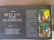 Cairns eye editorial- My Millinery business