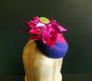 Twirling Pinwheel Cocktail Hat