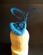 Wool Peacock Percher