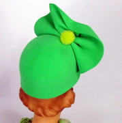 1940s style back view