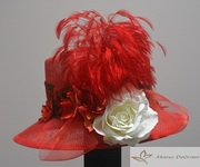 SUMMER HAT RED1