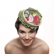 Salad Food Hat