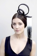 Straw Headpiece with Fringe