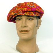 A Newsboy style or 1960s style Cap - Don't forget the men!