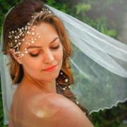 AgAtelier Bridal Collection Pearls and Zirconia Head Band