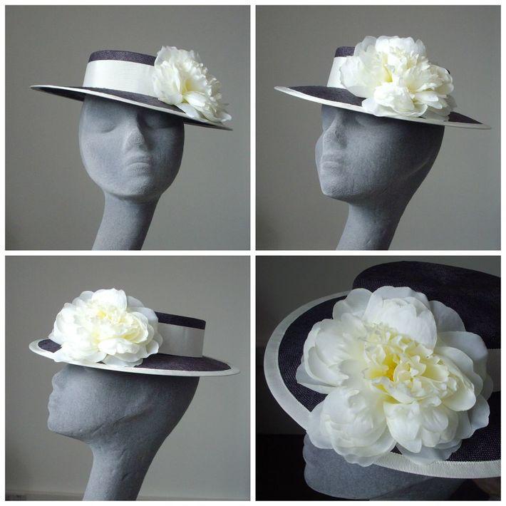 Sampling- Navy Sailor Hat