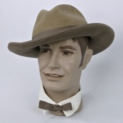 Two Tone Brown Western Cowboy or Cowgirl Hat - Towney