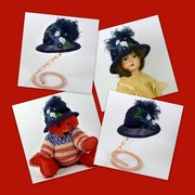 Doll or Teddy Bear Straw Hat