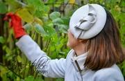 My Super Model Gosia with a AgAtelier Atumn Felt Hat