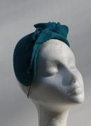 turquoise Teal Spring Headwear