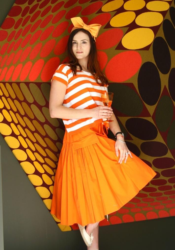 Give me your Tie! Fascinator, Anastasia Frei SS16