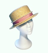 Boater Hat Anastasia Frei SS16