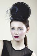 Hat with Tweed & Lace - Sorcha