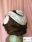 Doll's Mad Hattery Bridal Half Hat