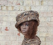 beautiful african print fabric hat