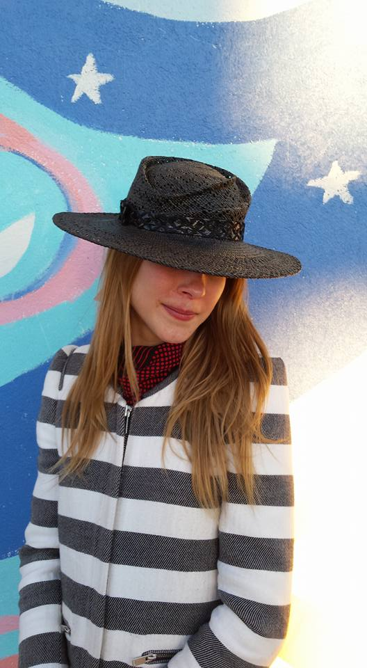 Lacey Panama Straw Hand Sculpted Hat