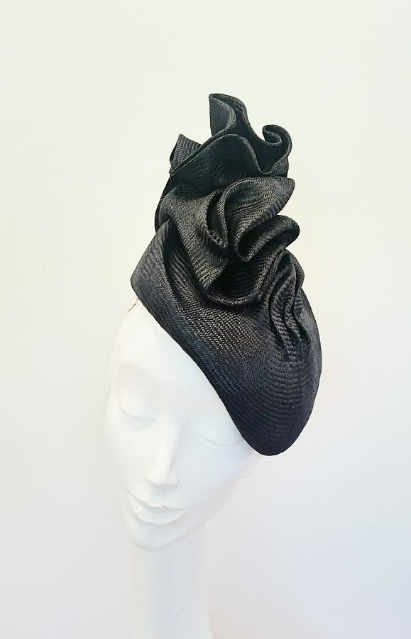 black parisisal - blocked and free shaped