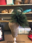 Peacock Jumbo Feather Fascinator
