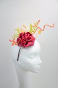 Rosebud - bespoken headpiece