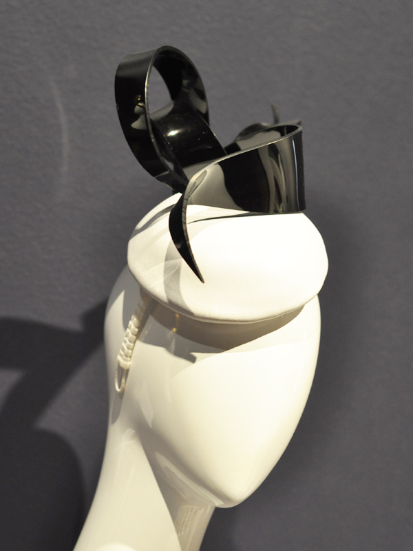 Plastic Ribbon Headpiece