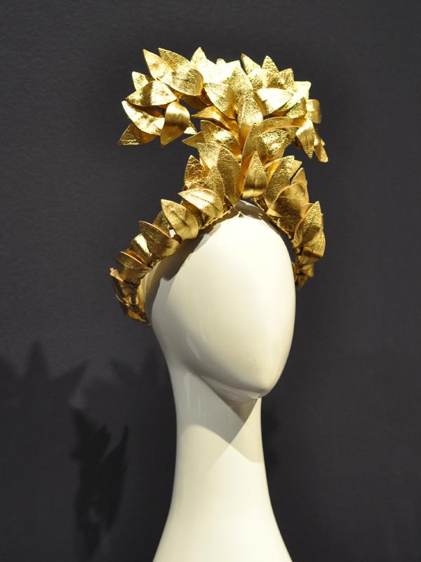 Goddess Headpiece in Gold