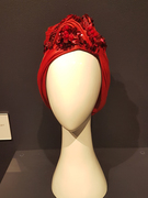 Modern Embellished Red Turban
