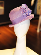 Lady Bowler Hat in Lilac