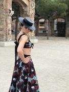Spanish Boater Hat