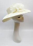 Silk Rose Swathed Hat